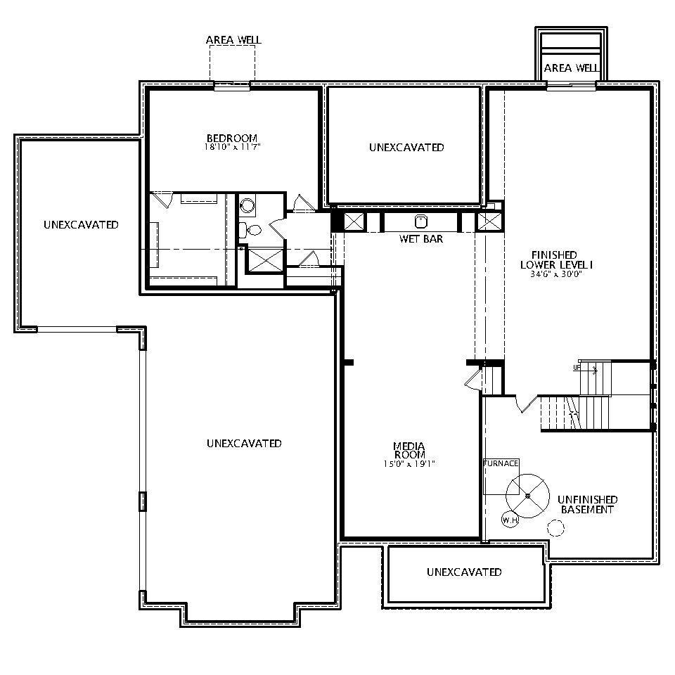Monticello Floor Plan: The Monticello