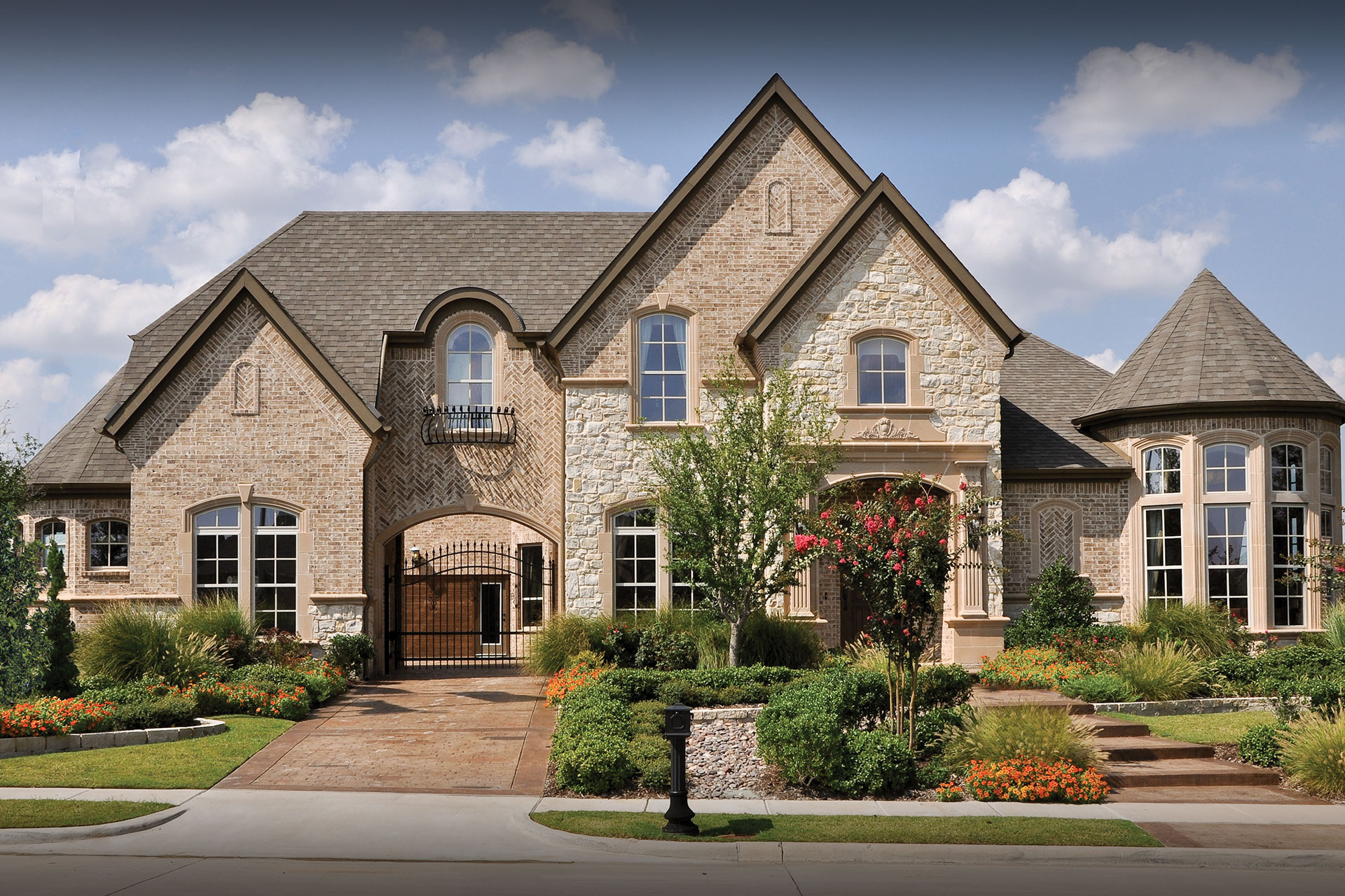 Houston drees homes for Custom home plans houston