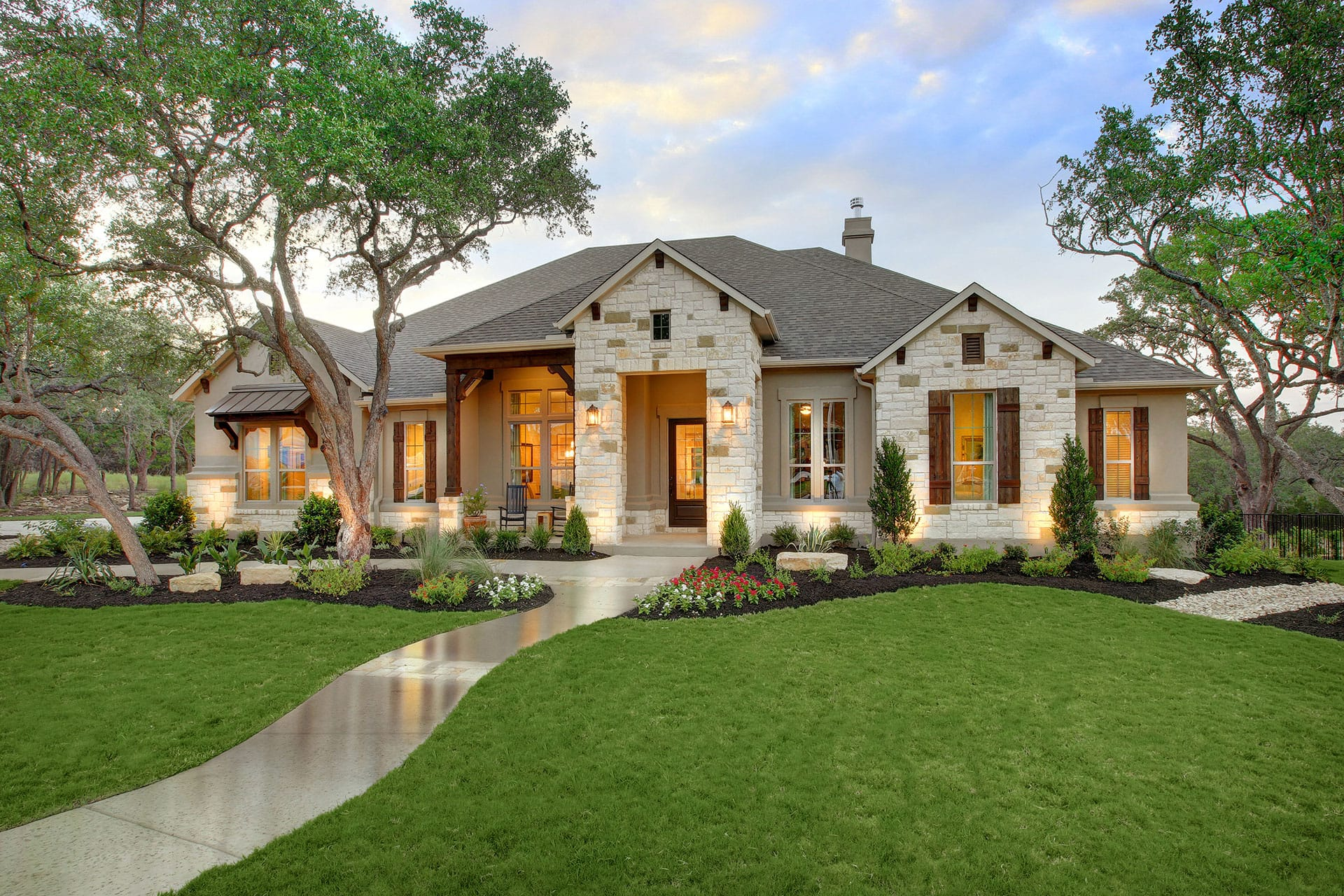 Custom homes made easy drees homes for Custom ranch homes