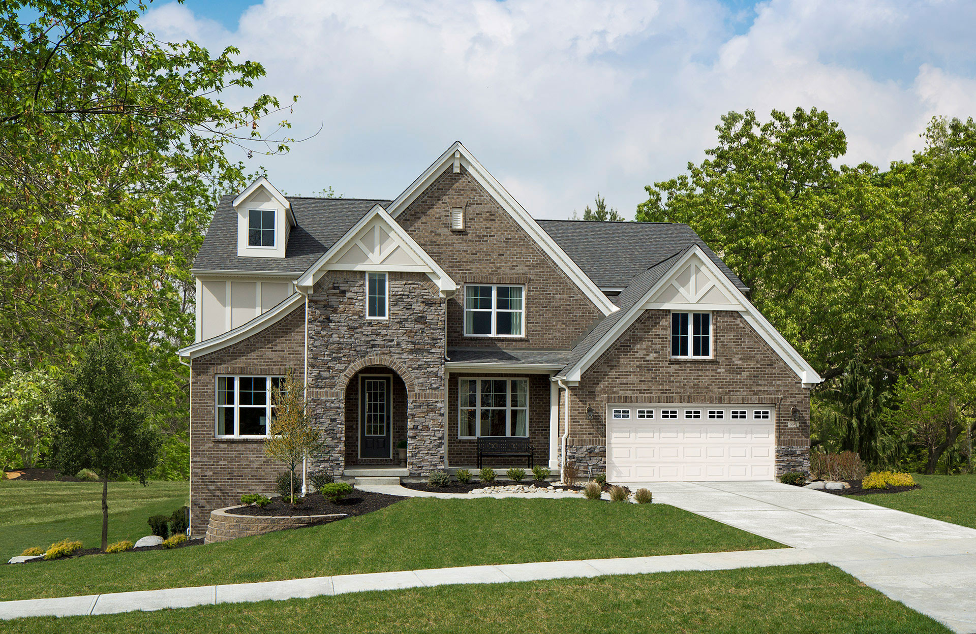 ash lawn at cross creek in cincinnati - Energy Independent Home Plans