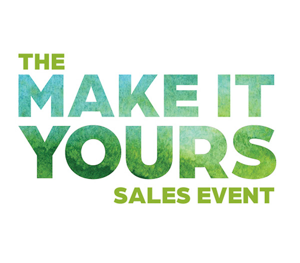 The Make It Yours Sales Event